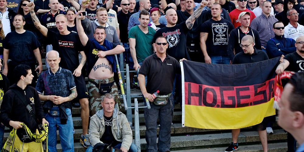Hooligans in Dortmund